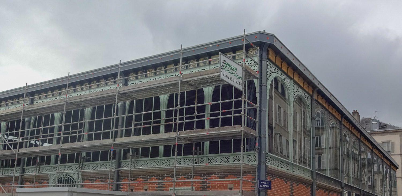 Это здание тоже на реконструкции