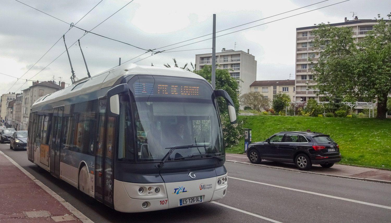 Забавные троллейбусы