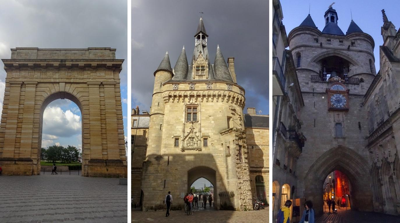 Porte de Bourgogne, Porte Cailhau и La Grosse Cloche