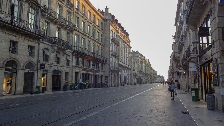В центре есть и широкие улицы