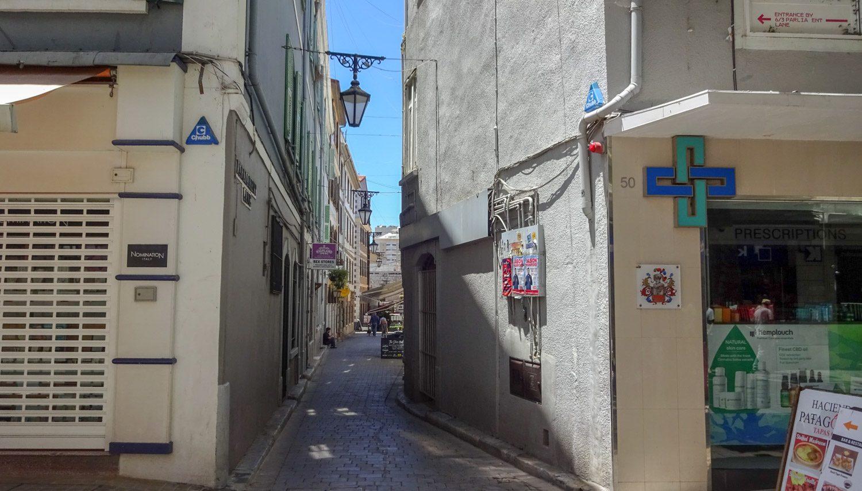 Узкая улочка