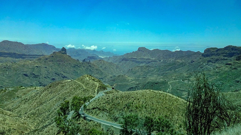 Горный пейзаж Гран-Канарии