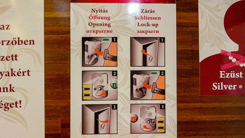 Инструкция для шкафчиков