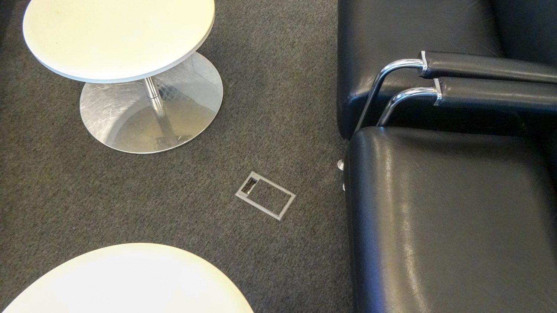 Удобные розетки в полу