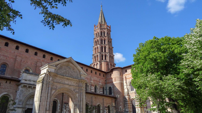 Базилика Saint-Sernin