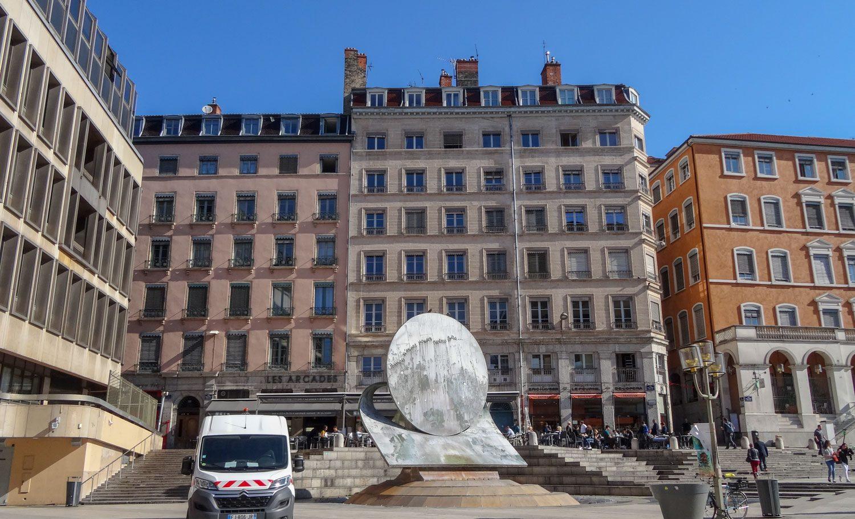 Площадь Louis Pradel