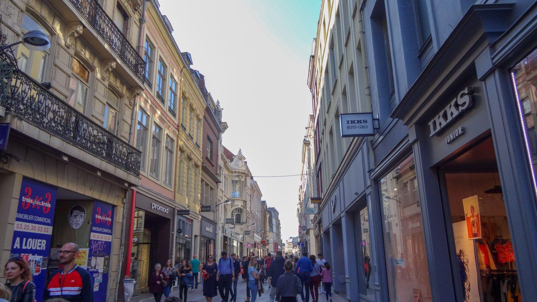 На улицах города