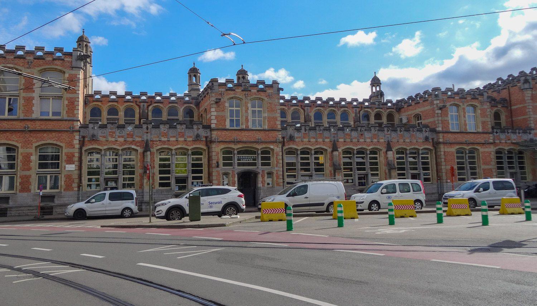 Вокзал St-Pieters