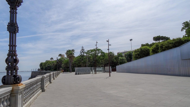 Огромная смотровая площадка