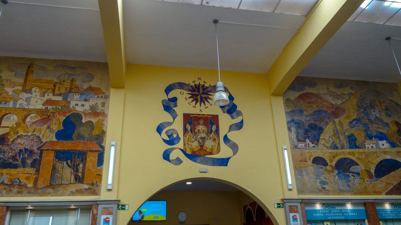 Роспись стен на Estación Prado