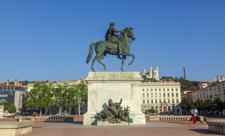 Памятник Людовику XIV
