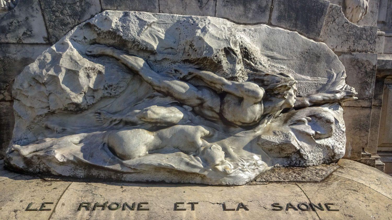 Монумент, посвященный обеим рекам