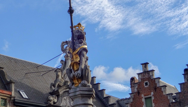 Лев на Старой рыночной площади