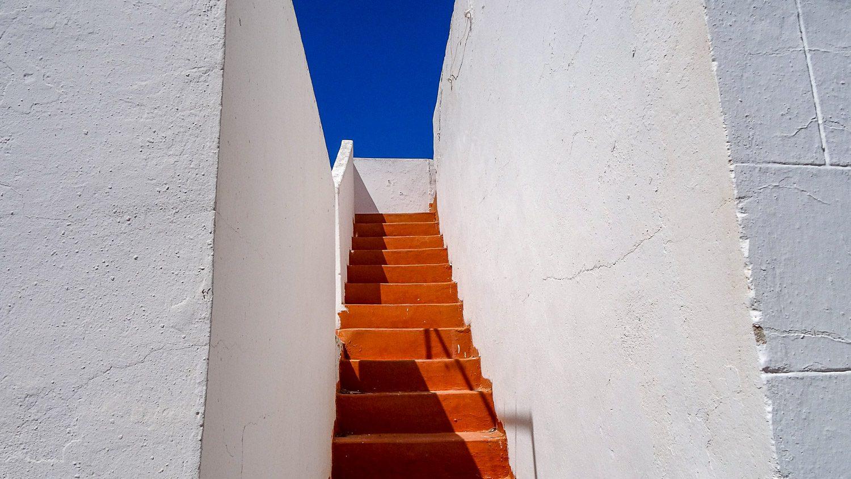 Лестница между домами