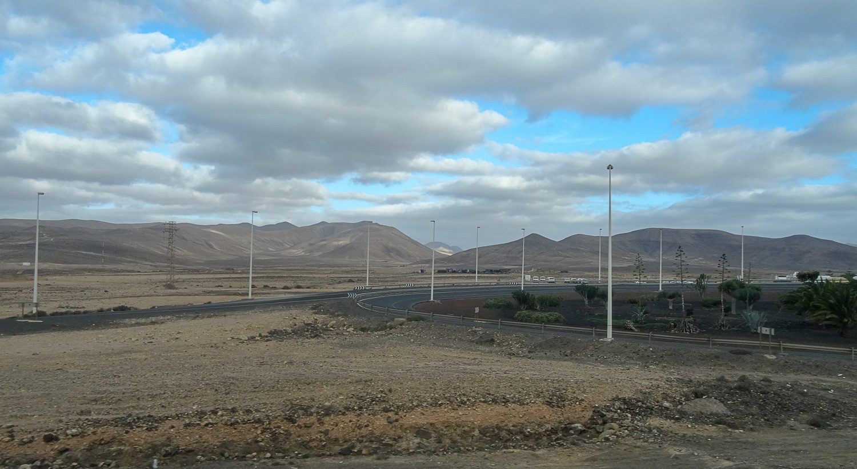 По пути в Пуэрто-дель-Росарио