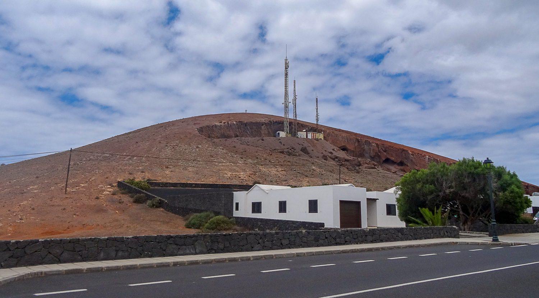 Вулкан в непосредственной близости