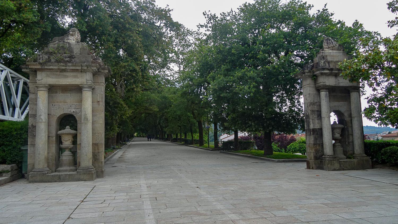 Широченные дорожки в парке
