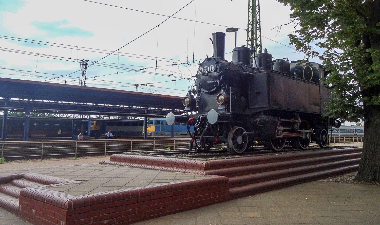На вокзале в Цегледе