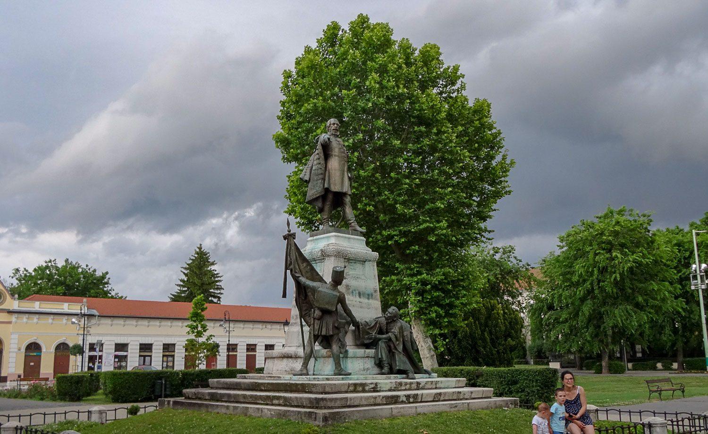 Статуя Лайоша Кошута