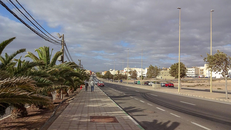 Дорога к центру города