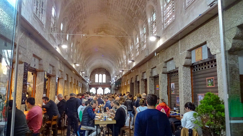 Рынок  Abastos de Santiago