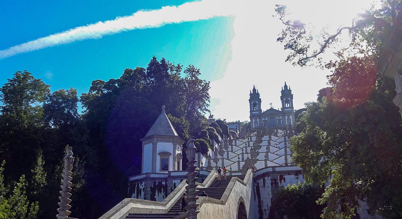 Лестница к Bom Jesus do Monte