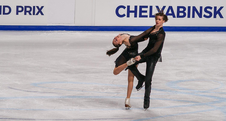 Елизавета Шанаева и Дэвид Нарижный
