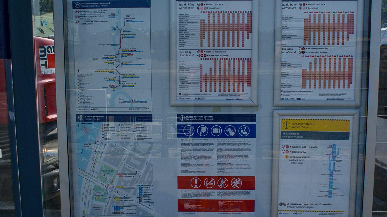 На остановках - подробная информация