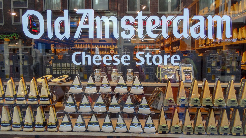 Чудесный магазин сыра в самом центре