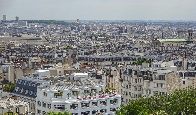 Париж - как на ладони