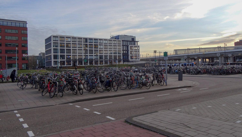 И в районе Sloterdijk