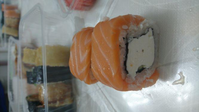 Отличное соотношение рыбы и риса