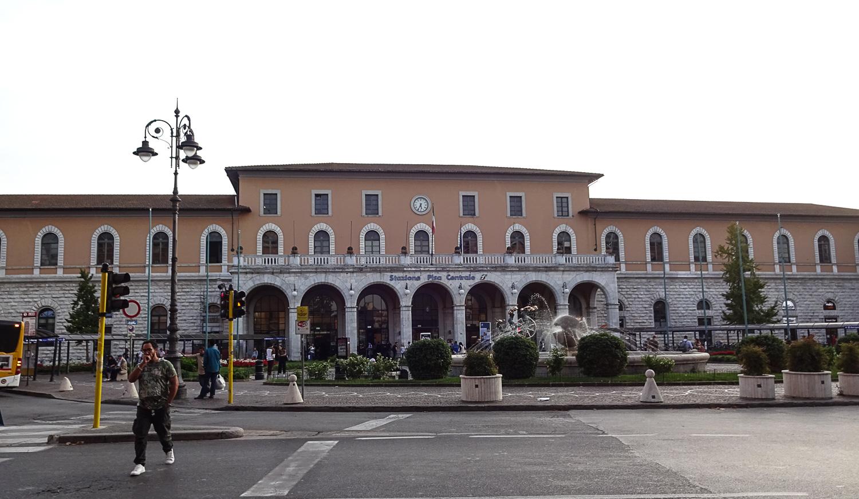 Центральный вокзал Пизы