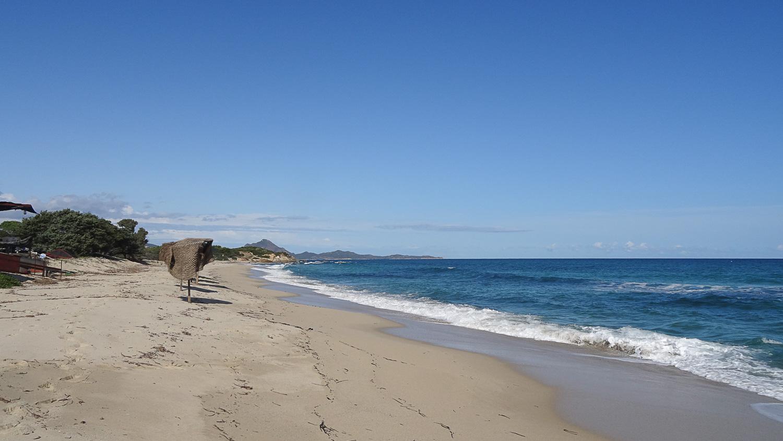 Piscina Rei - длинный-длинный пляж