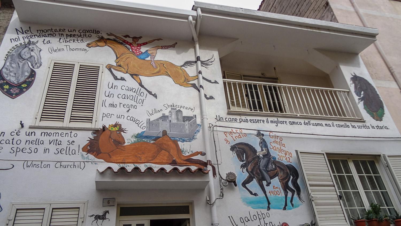 Первые фрески, которые мы нашли в Оргозоло