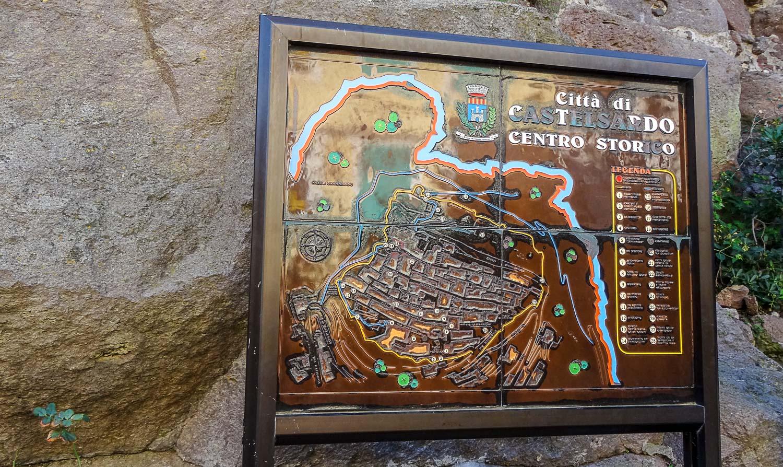 Карта старой части