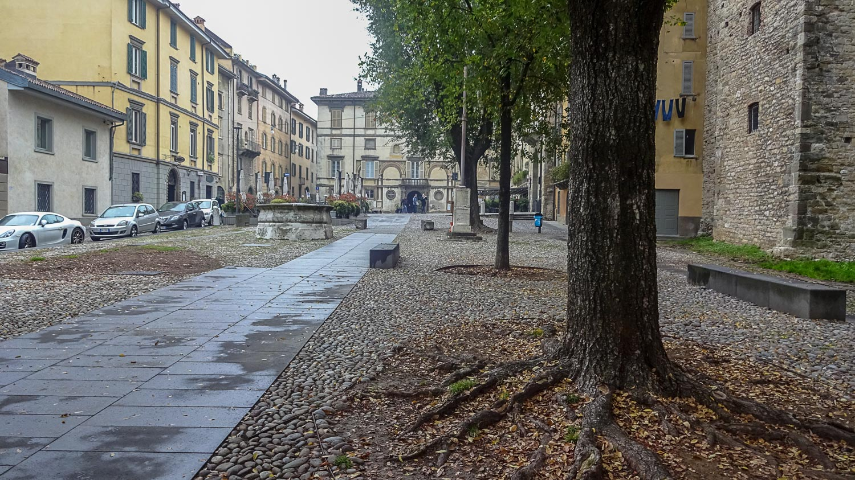 Осень в Бергамо