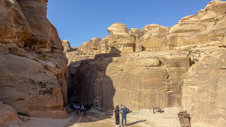 Вход в каньон