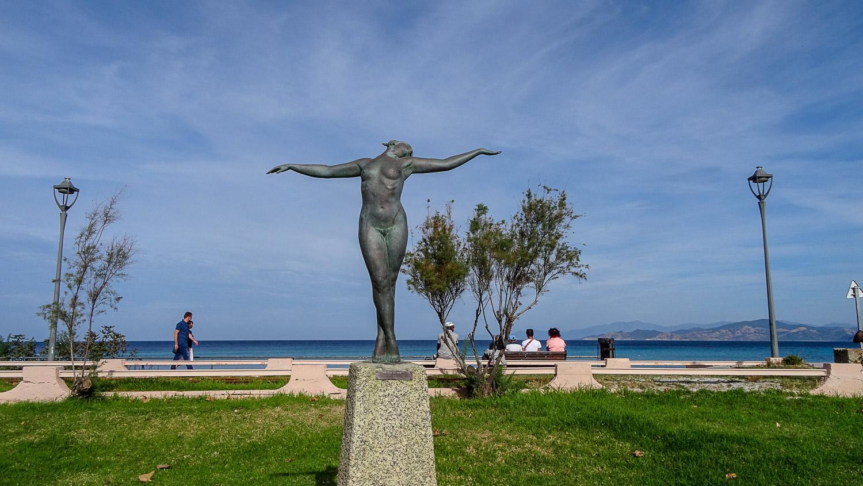 И вот такая морская скульптура
