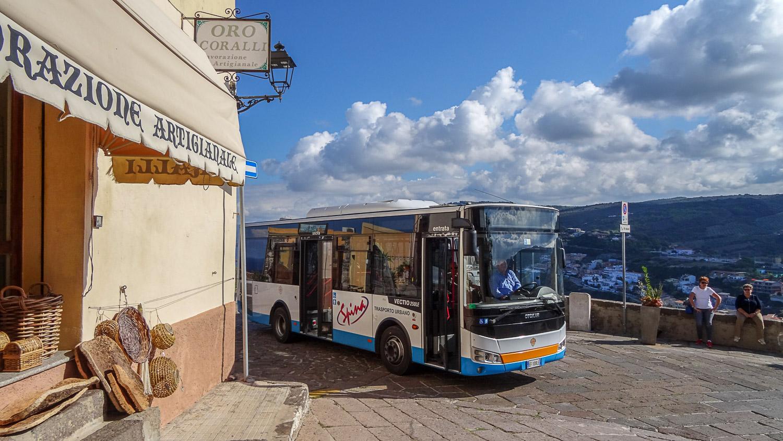 Автобус на Сардинии