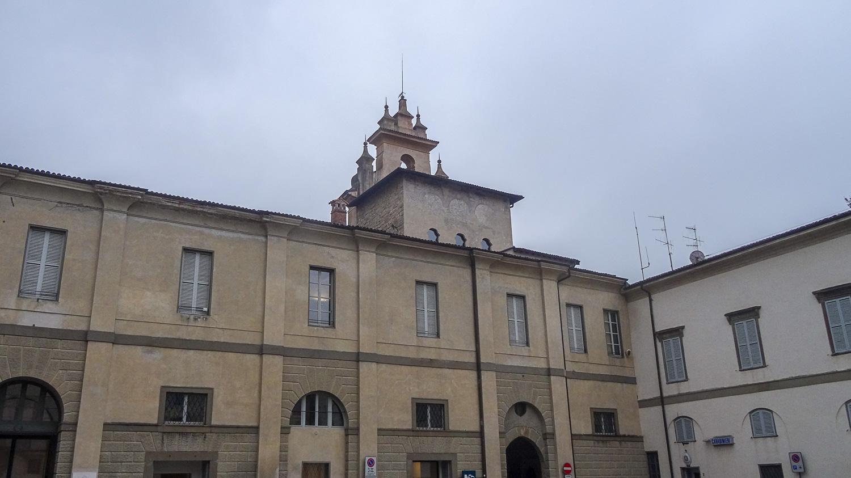 В центре Бергамо