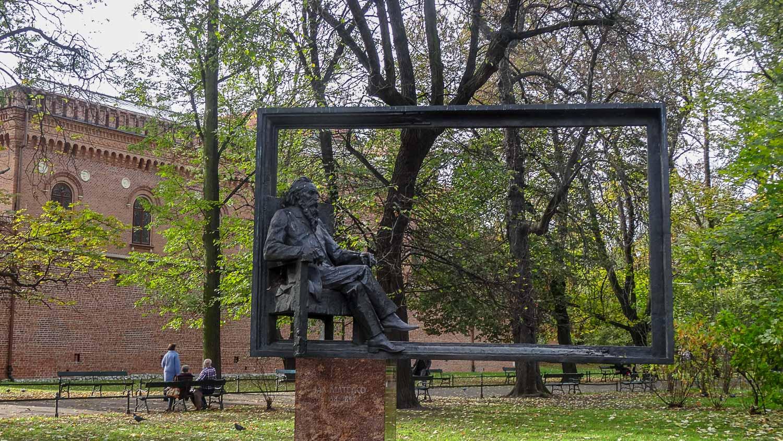 Памятник живописцу Яну Матейко