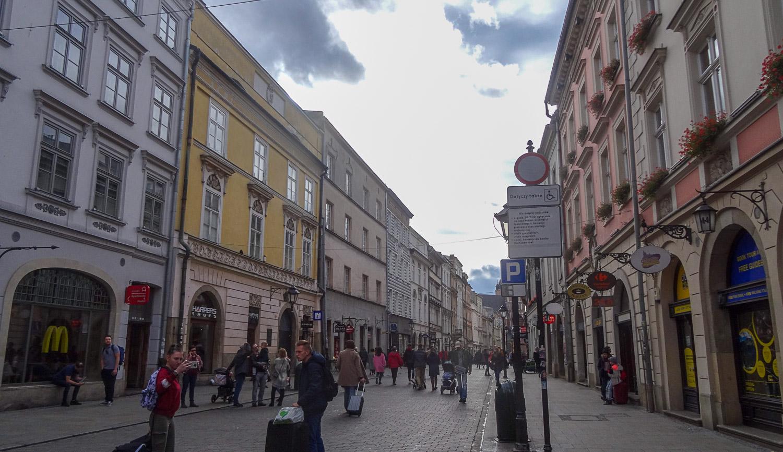 Центральная улица старой части