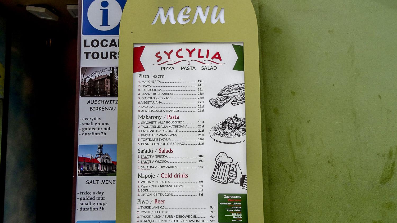 Сицилийское меню