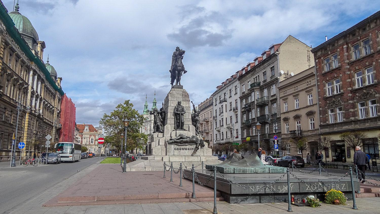 Памятник Грюндвальской битве