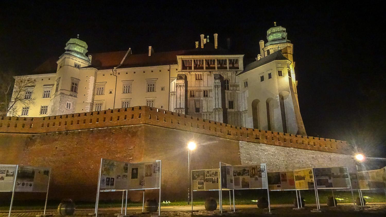 Стена Вавельского замка