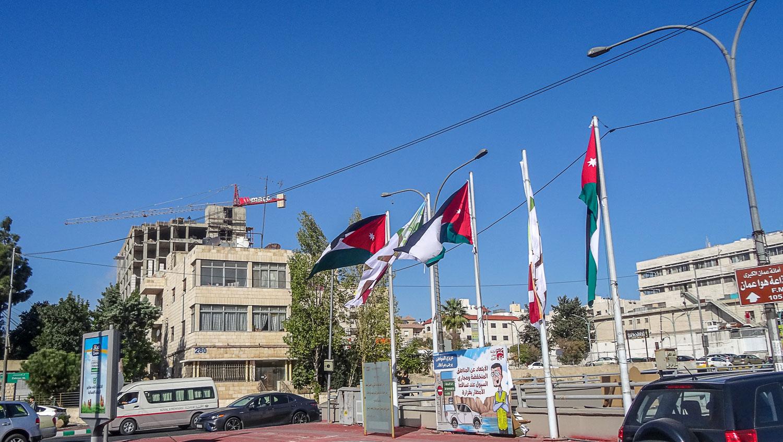Флаги Иордании