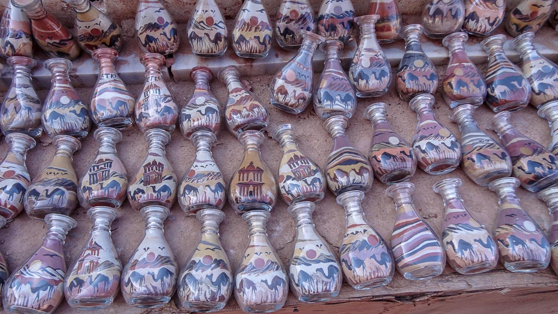 Бутылочки с песком