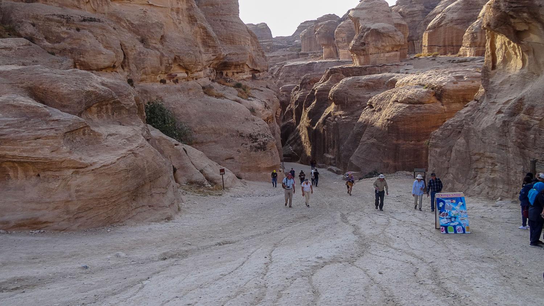 Выход из каньона