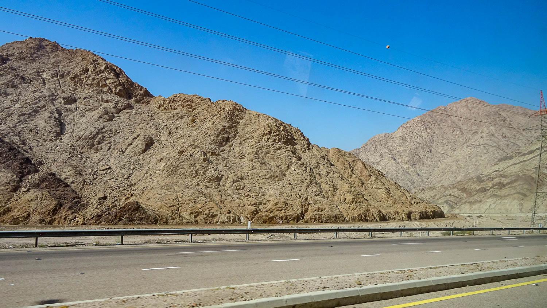 По пути из Вади-Мусы в Акабу